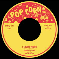 Vernon Green & The Medallions - A Lover's Prayer / Shedding Tears For You