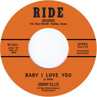 Jimmy Preacher Ellis - Baby I Love You