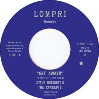 Little Gregory & the Concepts - Get Away!!
