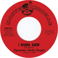 Dynamic Duke Royal - I Wanna Know