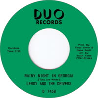 Leroy & The Drivers - Rainy Night in Georgia