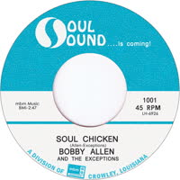 Bobby Allen & Exceptions - Soul Chicken